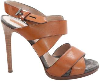 Reed Krakoff Camel Leather Sandals