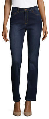 Jones New York Classic Straight Leg Jeans