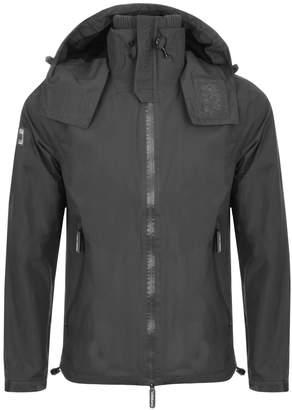 Superdry Hooded Cliff Hiker Jacket Grey