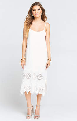 Show Me Your Mumu Shiloh Slip Dress ~ Sailboat Scallop