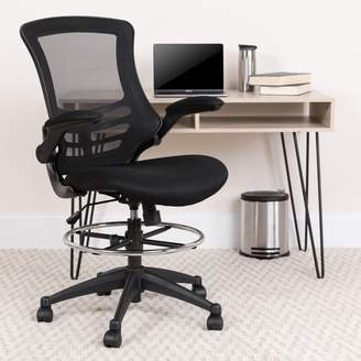 Wrought Studio Archimedes High-Back Mesh Drafting Chair