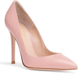Gianvito Rossi Gianvito 105 Dusty Pink Leather Pumps