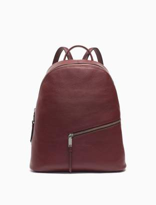 Calvin Klein pebble leather backpack