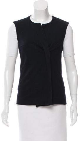 Isabel Marant Isabel Marant Wool-Blend Double-Breasted Vest