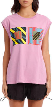 Muscle Tee Printed T-Shirt Jersey