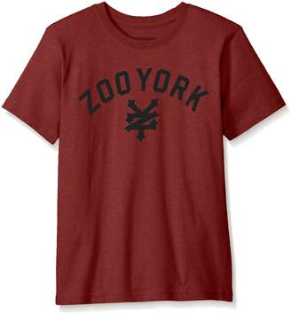 Zoo York Big Boys' Immergruen Short Sleeve Tee