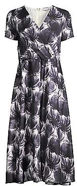 Max Mara Women's Unico Abstract Floral Jersey Dress