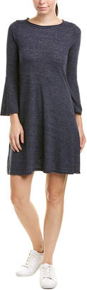 Three Dots Bell-Sleeve T-Shirt Dress
