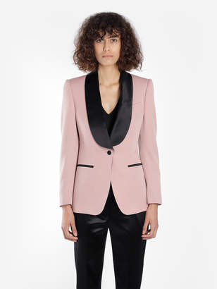 148f3ec2c45c1 Tom Ford WOMEN S PINK SHAWL LAPEL TUXEDO JACKET