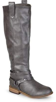 Co Brinley Womens Knee-High Ankle-Strap Riding Boot
