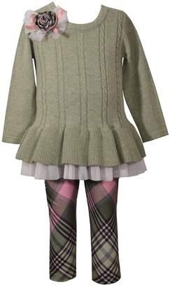 Bonnie Jean Girls 4-6x 2-Piece Sweater & Leggings Set