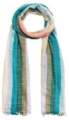 MANGO Metallic detail scarf