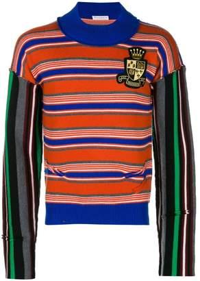J.W.Anderson mixed stripe jumper