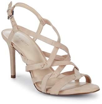Nine West Women's Rainford Strappy Suede Sandals