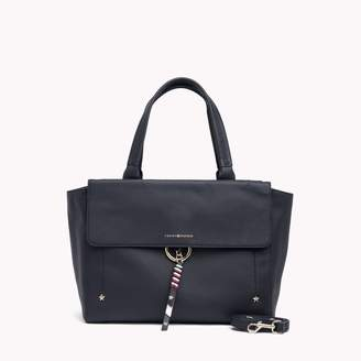 Tommy Hilfiger Classic Leather Satchel