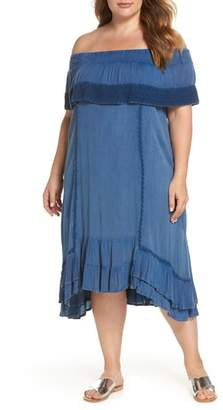 MUCHE ET MUCHETTE Gavin Ruffle Cover-Up Dress