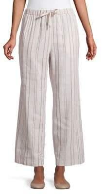 Max Mara Striped Drawstring Pants