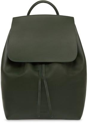 Mansur Gavriel Calf Men's Backpack - Moss