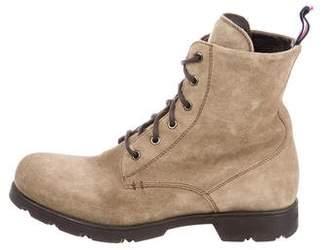 Moncler Suede Combat Boots