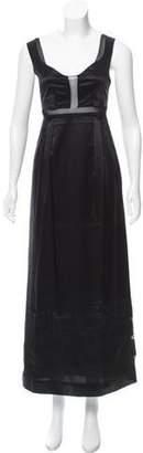 Philosophy di Alberta Ferretti Silk Maxi Dress
