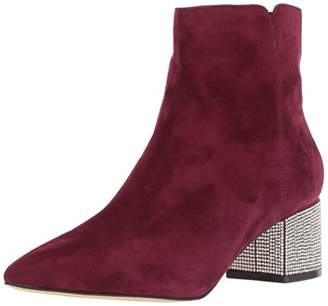 Nine West Women's RICHICK Suede Ankle Boot