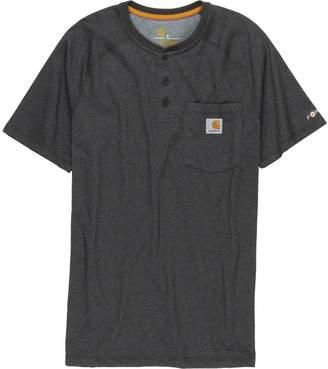 Carhartt Force Cotton Delmont Henley Shirt - Men's
