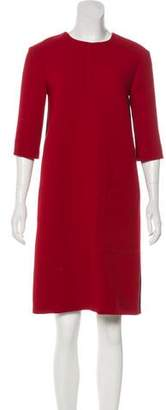 Marni Virgin Wool Shift Dress