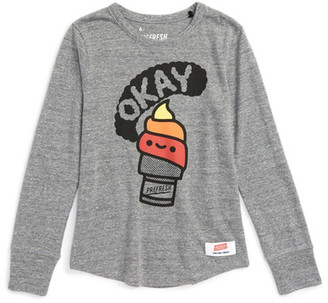 Prefresh Okay Graphic Long Sleeve Tee (Baby, Toddler, & Little Boys) $40 thestylecure.com