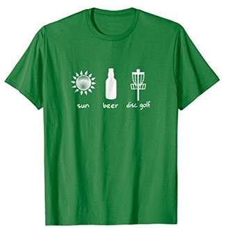 Sun Beer Disc Golf Sports T-Shirt