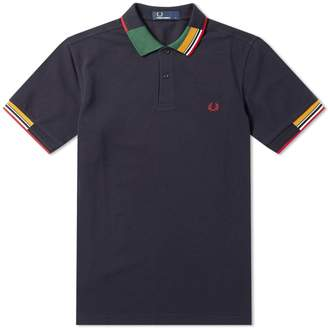 Fred Perry Authentic Abstract Collar Polo
