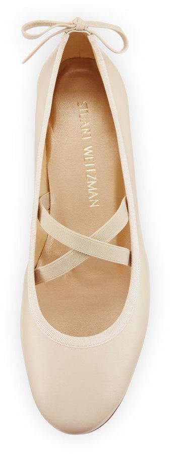 Stuart Weitzman Bolshoi Napa Ballerina Flat 4