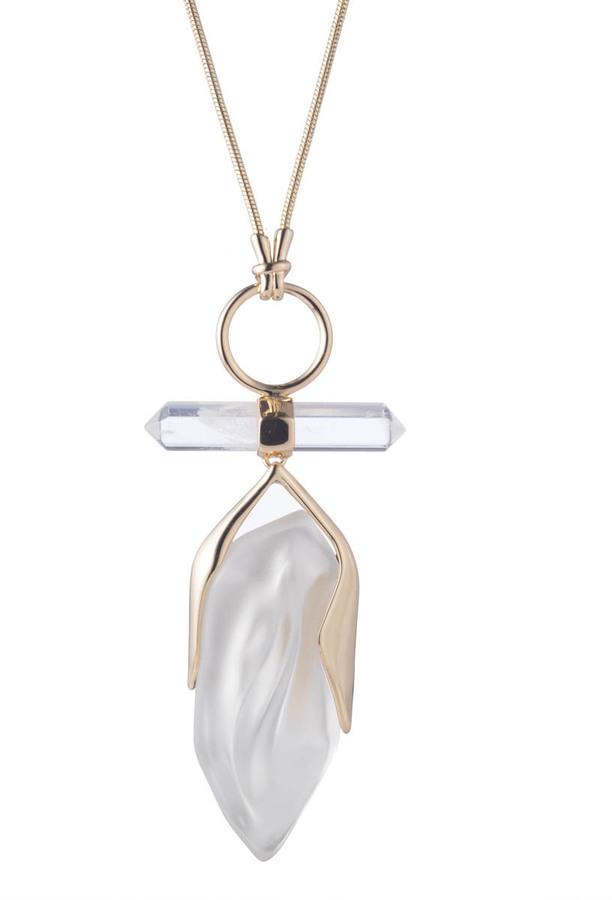 Alexis BittarFaceted Rock Crystal Pendant