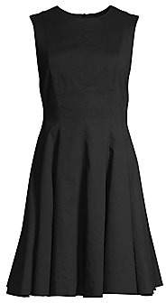 Theory Women's Sleeveless Peplum Dress