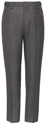 Banana Republic Heritage Slim Tapered Cropped Plaid Suit Pant