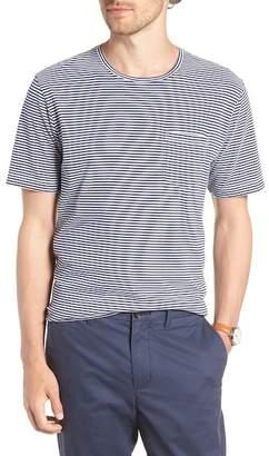 1901 Stripe Brushed Pima Cotton T-Shirt