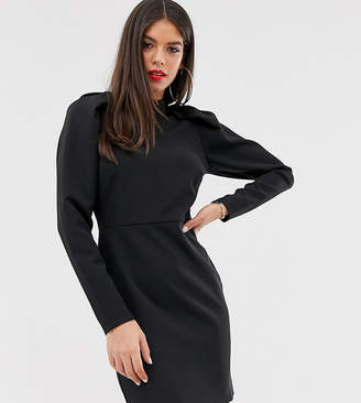 Asos Tall DESIGN Tall mini dress with extreme puff sleeve