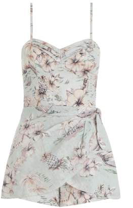 Zimmermann Wayfarer Wrap Playsuit