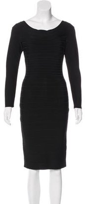 Herve Leger Candice Bandage Dress