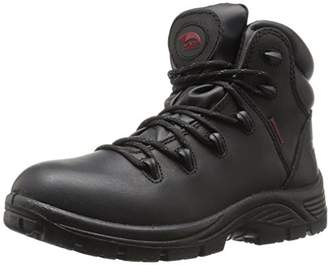 Avenger Safety Footwear Avenger 7623 Mens Leather Waterproof Soft Toe EH Work Boot Industrial & Construction Shoe