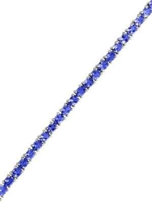 Effy Tanzanite Sterling Silver Tennis Bracelet