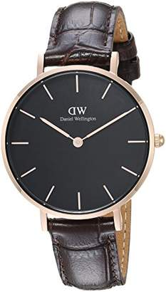 Daniel Wellington Classic Petite York in Black 32mm
