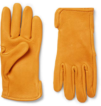 Roper Best Made Company Leather Gloves - Men - Mustard