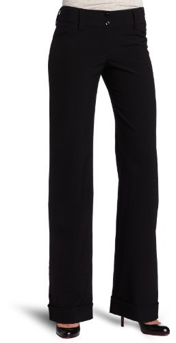Amy Byer A. Byer Juniors Cuffed Tropical Cambridge Pant