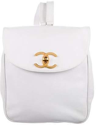 Chanel Caviar CC Backpack