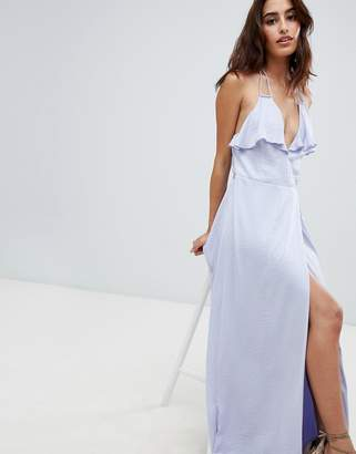 The Jetset Diaries Opal Wrap Maxi Dress