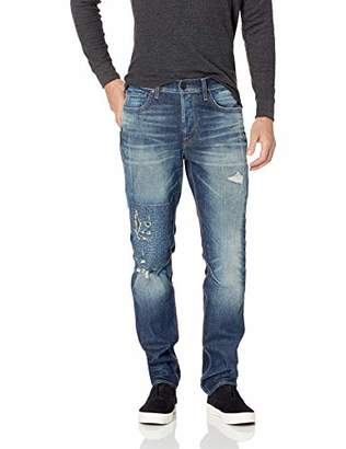 Hudson Jeans Men's Sartor Relaxed Skinny with Exposed SS Zippers