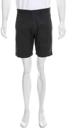 Theory Flat Front Woven Shorts
