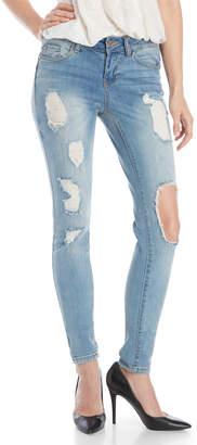 Dollhouse Distressed Skinny Jeans