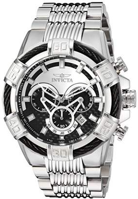 Invicta Men's 'Bolt' Quartz Stainless Steel Casual Watch