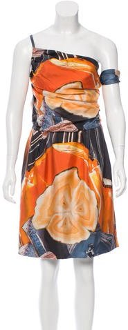 Christian Dior Silk Printed Dress
